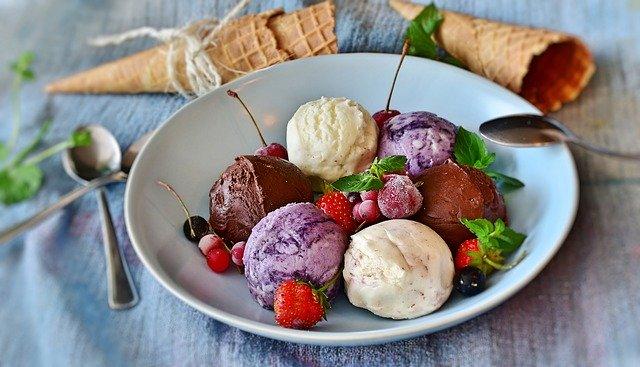D'estate la dieta del gelato