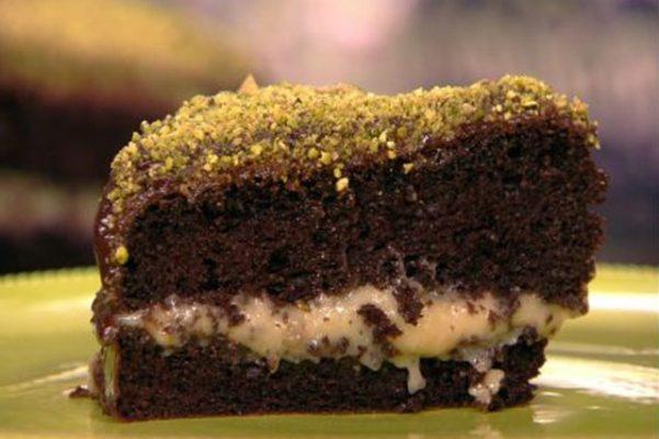 Torta cioccolato e marroni