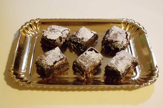 Brownie al cioccolato fondente