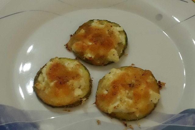 Zucchine gratinate con ricotta