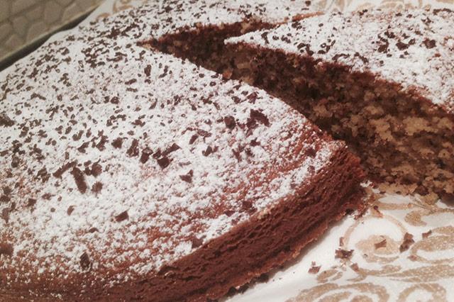 Torta cocco e cioccolato. La prova del cuoco